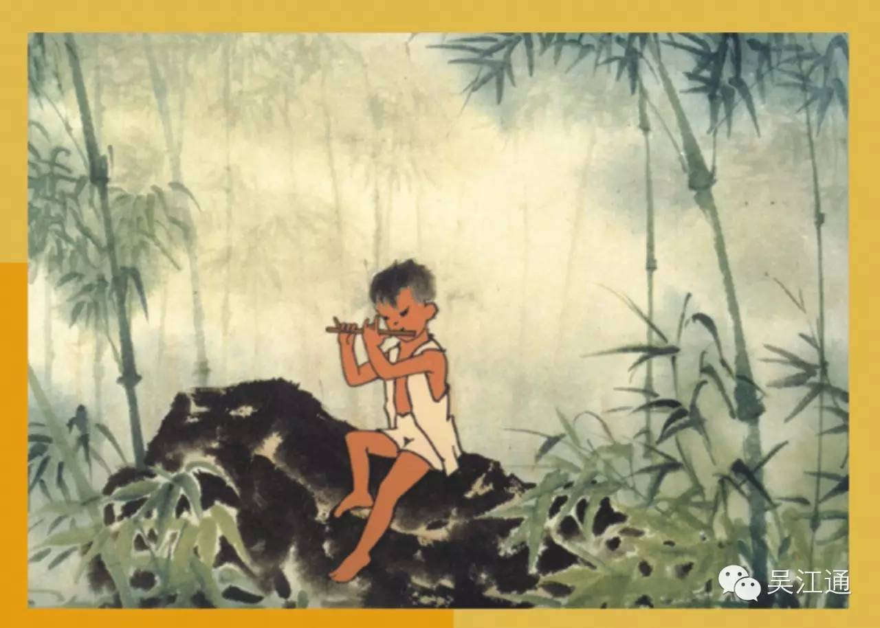 开创了最富中国特色的水墨动画片